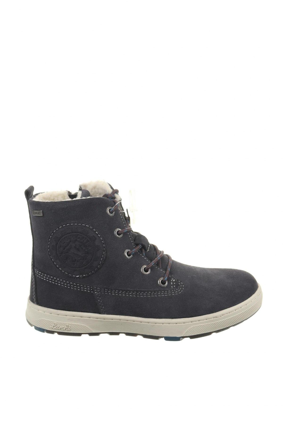 Παιδικά παπούτσια Lurchi, Μέγεθος 33, Χρώμα Μπλέ, Φυσικό σουέτ, Τιμή 33,74€