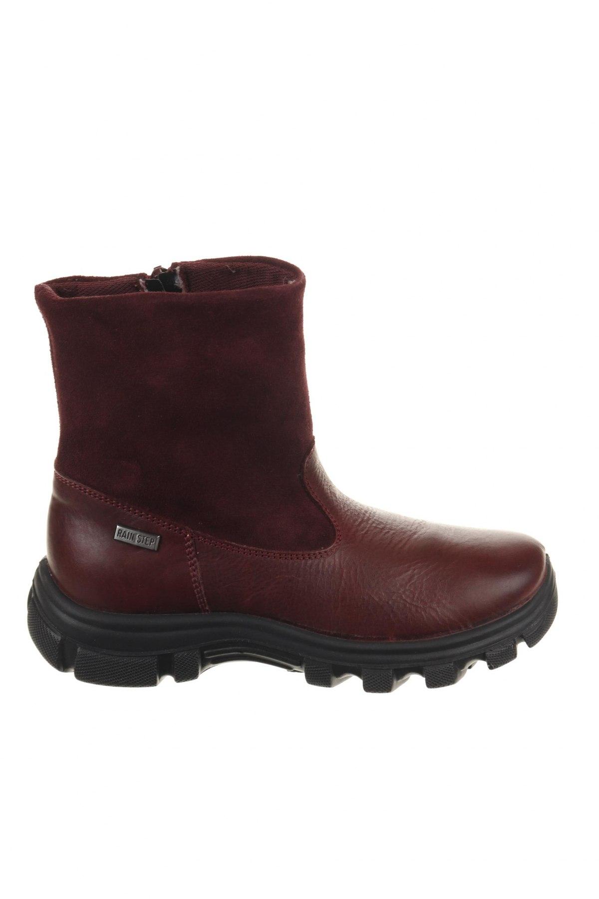 Παιδικά παπούτσια Naturino, Μέγεθος 31, Χρώμα Κόκκινο, Γνήσιο δέρμα, φυσικό σουέτ, Τιμή 46,08€