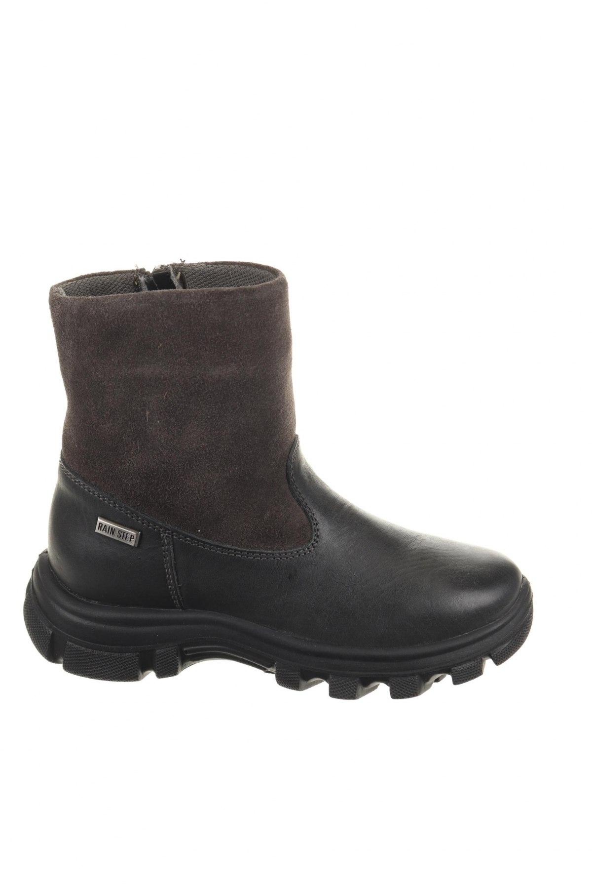Παιδικά παπούτσια Naturino, Μέγεθος 28, Χρώμα Γκρί, Γνήσιο δέρμα, φυσικό σουέτ, Τιμή 39,17€