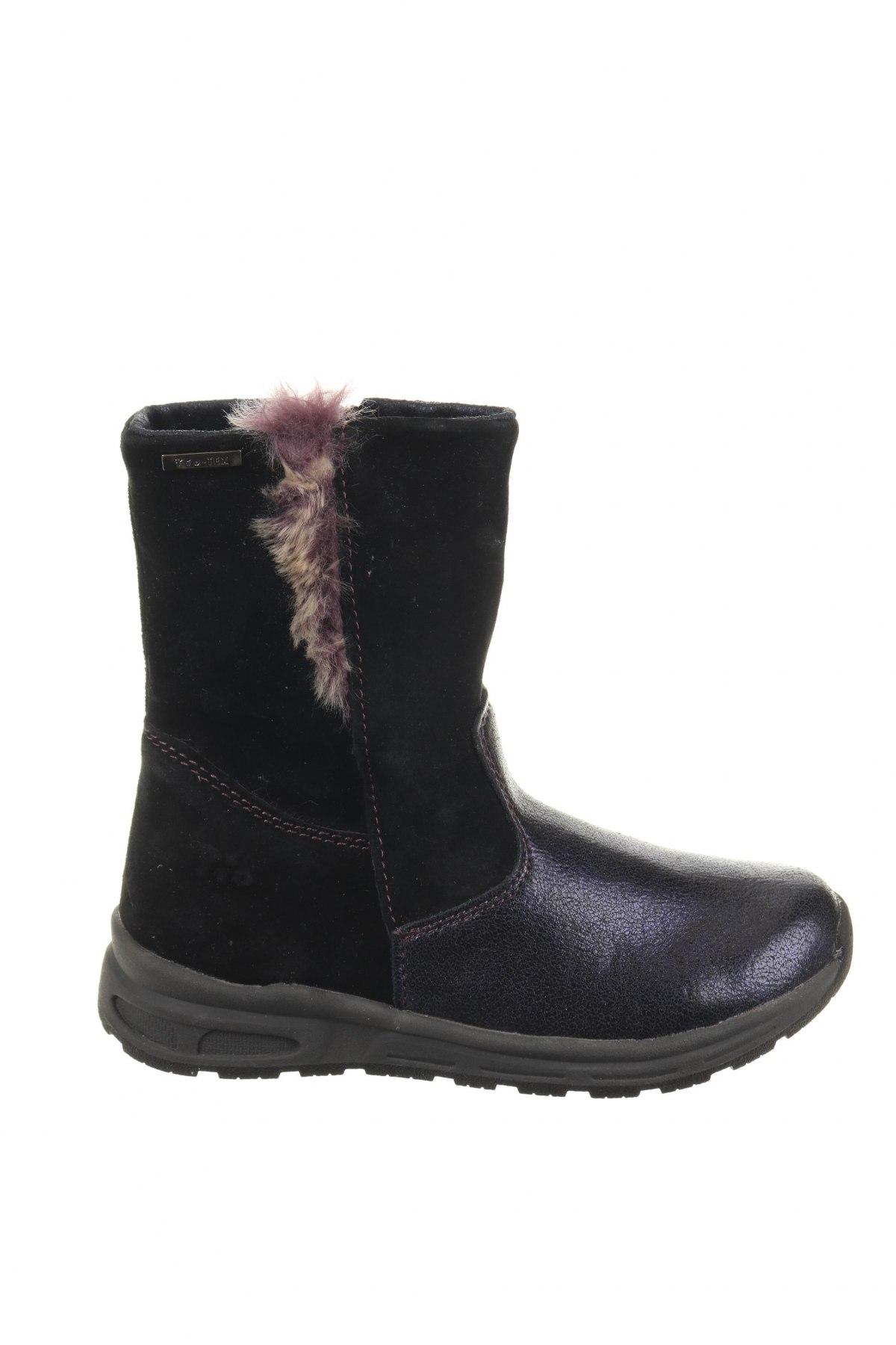 Παιδικά παπούτσια Pio, Μέγεθος 29, Χρώμα Μαύρο, Φυσικό σουέτ, δερματίνη, Τιμή 36,54€
