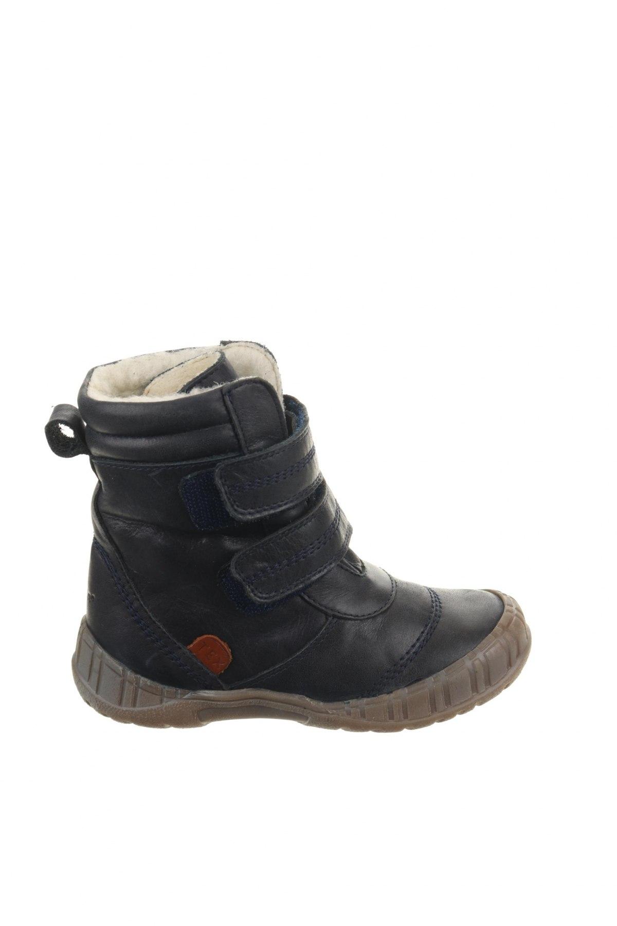 Παιδικά παπούτσια Pom Pom, Μέγεθος 26, Χρώμα Μπλέ, Γνήσιο δέρμα, Τιμή 36,54€