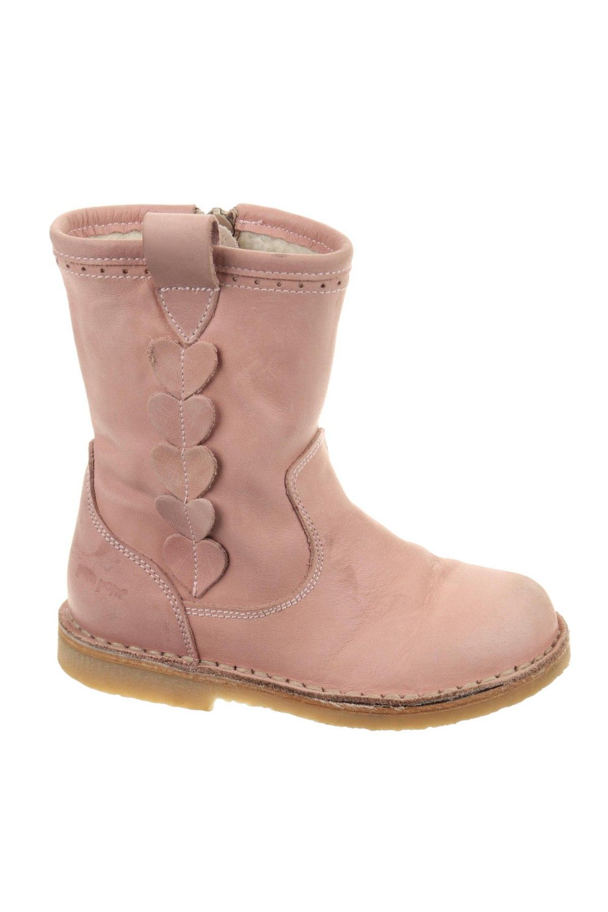 Παιδικά παπούτσια Pom Pom, Μέγεθος 25, Χρώμα Ρόζ , Γνήσιο δέρμα, Τιμή 36,48€