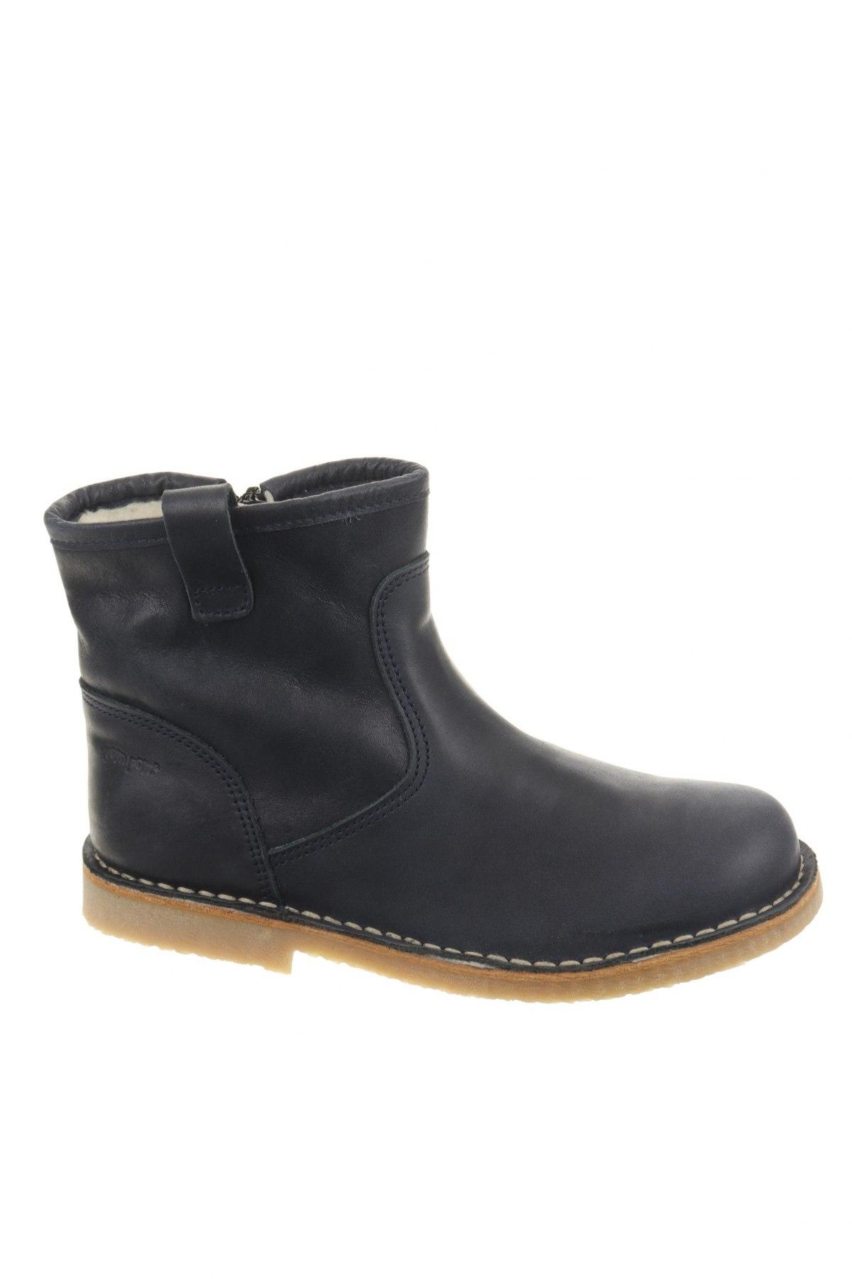 Παιδικά παπούτσια Pom Pom, Μέγεθος 33, Χρώμα Μπλέ, Γνήσιο δέρμα, Τιμή 38,64€