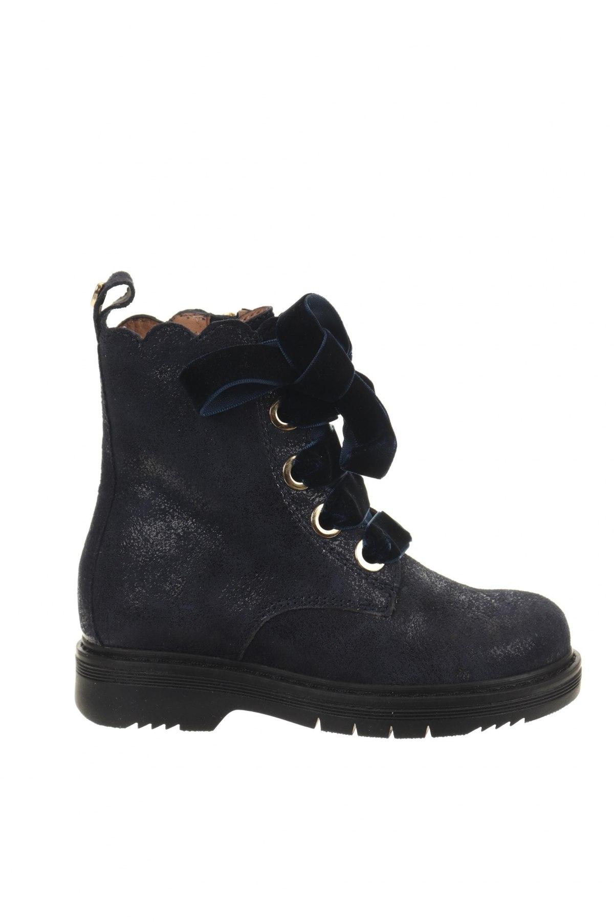 Παιδικά παπούτσια TWINSET, Μέγεθος 24, Χρώμα Μπλέ, Φυσικό σουέτ, Τιμή 32,24€