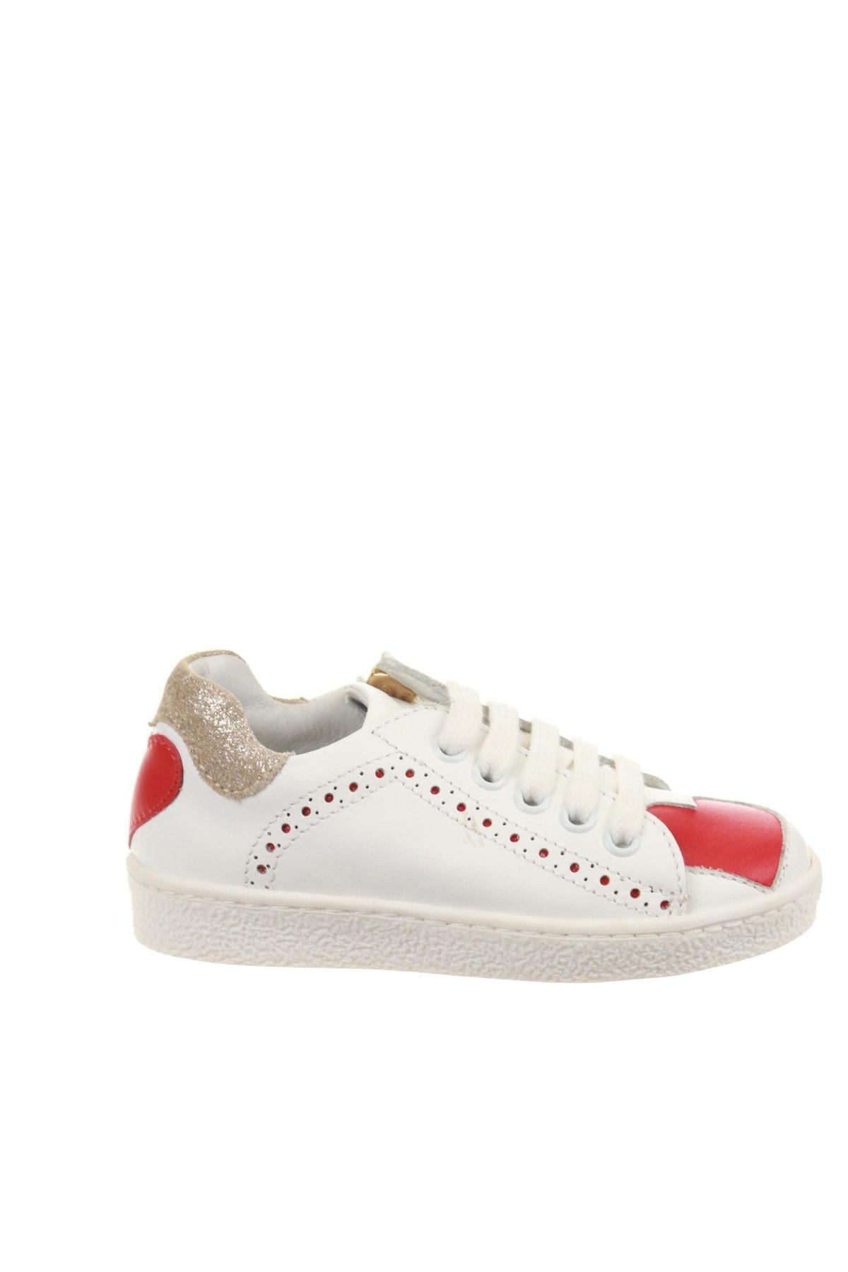 Παιδικά παπούτσια TWINSET, Μέγεθος 24, Χρώμα Λευκό, Γνήσιο δέρμα, φυσικό σουέτ, Τιμή 35,83€