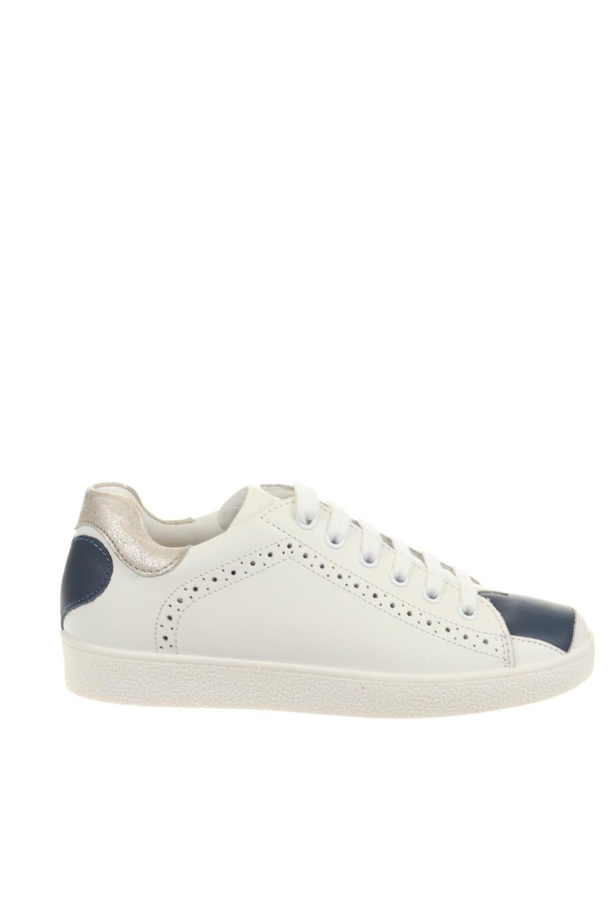 Παιδικά παπούτσια TWINSET, Μέγεθος 33, Χρώμα Λευκό, Γνήσιο δέρμα, Τιμή 35,83€