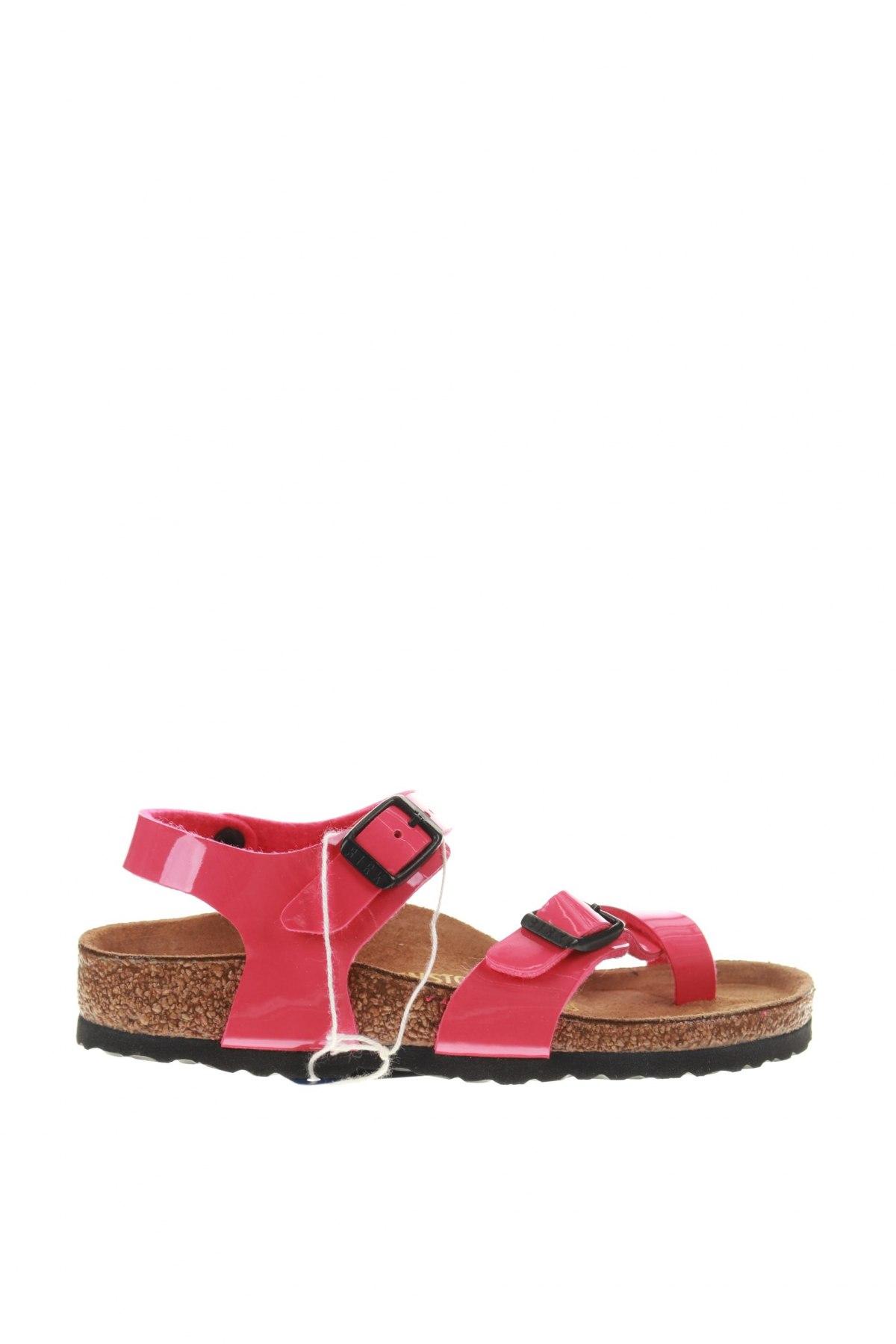 Σανδάλια Birkenstock, Μέγεθος 28, Χρώμα Ρόζ , Δερματίνη, Τιμή 25,52€